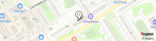 88 отдел полиции Управления МВД Всеволожского муниципального района на карте Сертолово