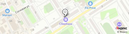 Северо-Западный банк Сбербанка России на карте Сертолово