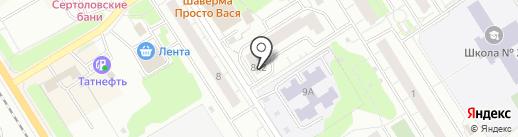 Комиссионный магазин на карте Сертолово