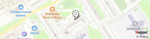 Молодцова-8, ТСЖ на карте Сертолово