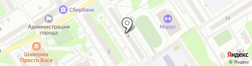 АПК Сервис на карте Сертолово