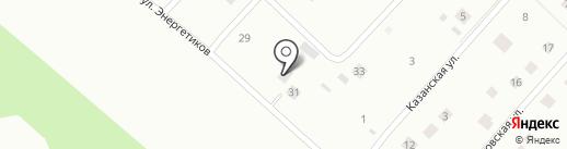 Сияние на карте Сертолово