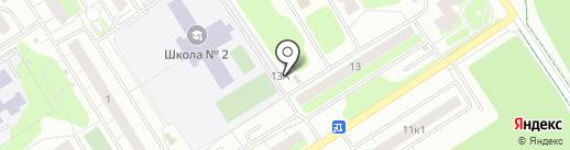 Мастерская по ремонту обуви на ул. Молодцова на карте Сертолово