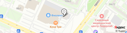 Нотариус Колпаков В.В. на карте Санкт-Петербурга