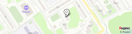 Нуга Бест на карте Сертолово