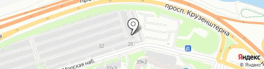 Сигнал, ГК на карте Санкт-Петербурга