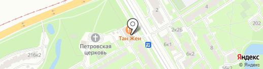 Почтовое отделение №262 на карте Санкт-Петербурга