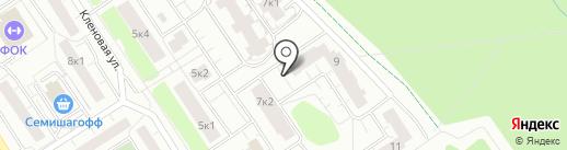 Леноблинвентаризация, ГУП на карте Сертолово