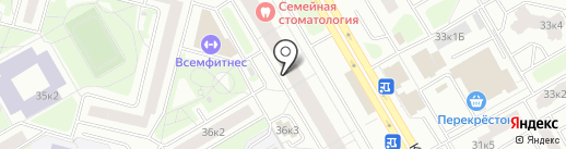 Комендантский 34. Третий пусковой, ТСЖ на карте Санкт-Петербурга