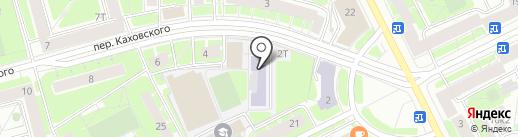 Школа-интернат №576 с углубленным изучением физической культуры на карте Санкт-Петербурга