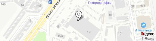 СанТехКомплект-СПб на карте Санкт-Петербурга