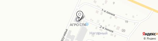 Смайл на карте Малого Карлино