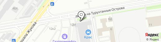 РусьСтройПитер на карте Санкт-Петербурга