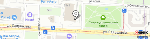 А-Проект на карте Санкт-Петербурга