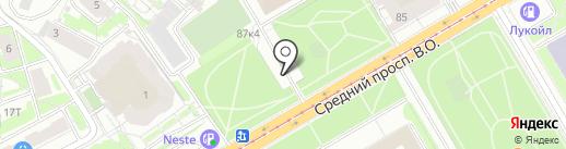 Биомед на карте Санкт-Петербурга
