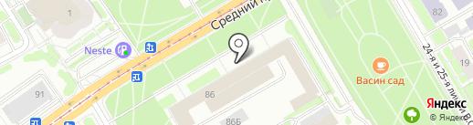 ИНТЕР-ГАВАНЬ на карте Санкт-Петербурга