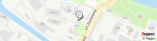 Компания БАКОС на карте Санкт-Петербурга