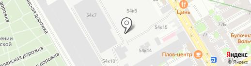 ГАЛЭКС, ЗАО на карте Санкт-Петербурга