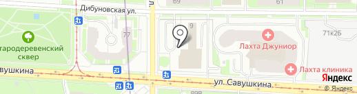 ProstoR на карте Санкт-Петербурга