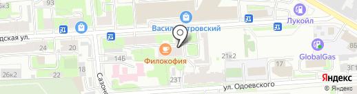 Невадоор на карте Санкт-Петербурга