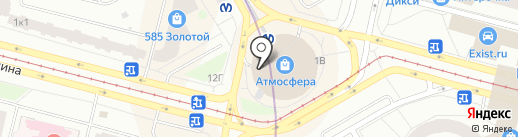 Наутилус на карте Санкт-Петербурга