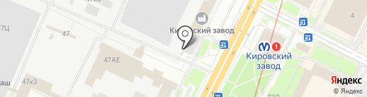 Центр метрологии, испытаний и охраны труда, ЗАО на карте Санкт-Петербурга
