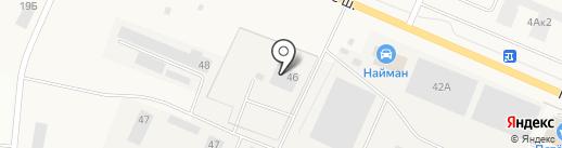 ЦТО на карте Малого Карлино