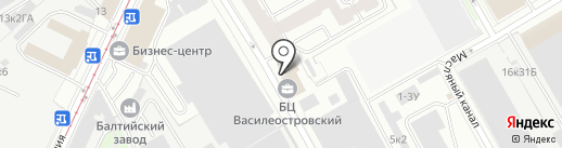 Formix-Expo на карте Санкт-Петербурга