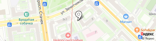 Дизельцентр на карте Санкт-Петербурга
