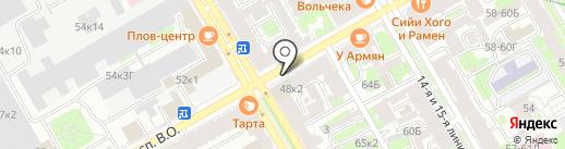 Балтийская инжиниринговая компания, ЗАО на карте Санкт-Петербурга