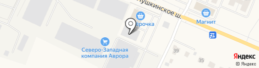 Старко Санкт-Петербург на карте Малого Карлино