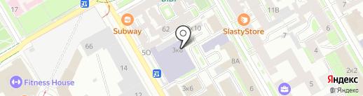 Механобр инжиниринг, ЗАО на карте Санкт-Петербурга