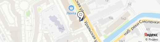 Ярви на карте Санкт-Петербурга