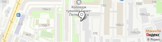Гипроцемент-Наука, ЗАО на карте Санкт-Петербурга