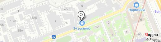 УРАН, ЗАО на карте Санкт-Петербурга