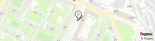 ЛВК на карте Санкт-Петербурга