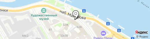 СМОЛЬНИНСКИЙ ХЛЕБОЗАВОД на карте Санкт-Петербурга