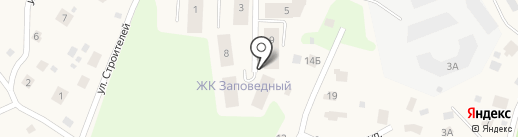 Заповедный на карте Юкк