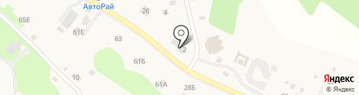 Магазин по продаже растений на карте Агалатово