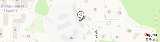 Черничная Поляна на карте Юкк