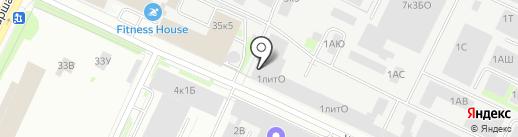 Красный Химик, ЗАО на карте Санкт-Петербурга