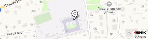 Юкковская специальная школа-интернат на карте Юкк