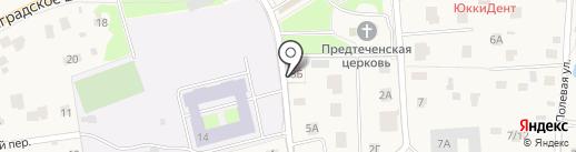 Фельдшерско-акушерский пункт на карте Юкк