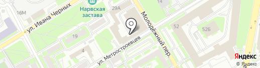 Ленгипроречтранс, ЗАО на карте Санкт-Петербурга