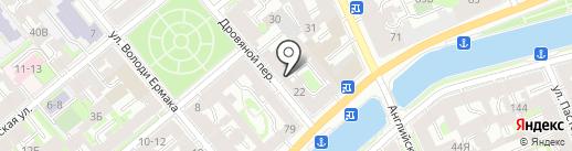 КТИ на карте Санкт-Петербурга