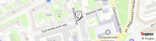 Силмар СПб на карте Санкт-Петербурга
