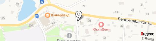 НЕВСКИЙ РЕДУТ на карте Юкк