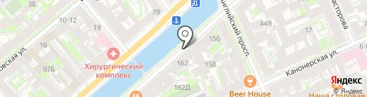 Грибоедова 160, ТСЖ на карте Санкт-Петербурга