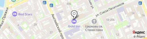 Северо-Западная региональная служба спасения на карте Санкт-Петербурга