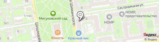 Спорт Лайн на карте Санкт-Петербурга